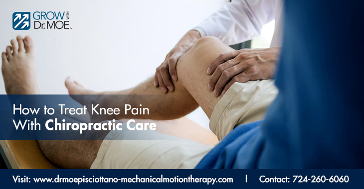 How to Treat Knee Pain With Chiropractic Care